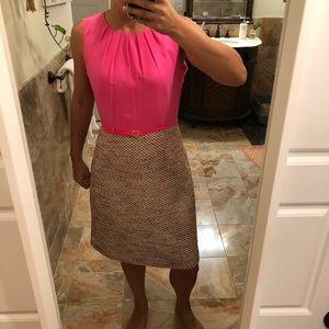 Pink Tailored Dress